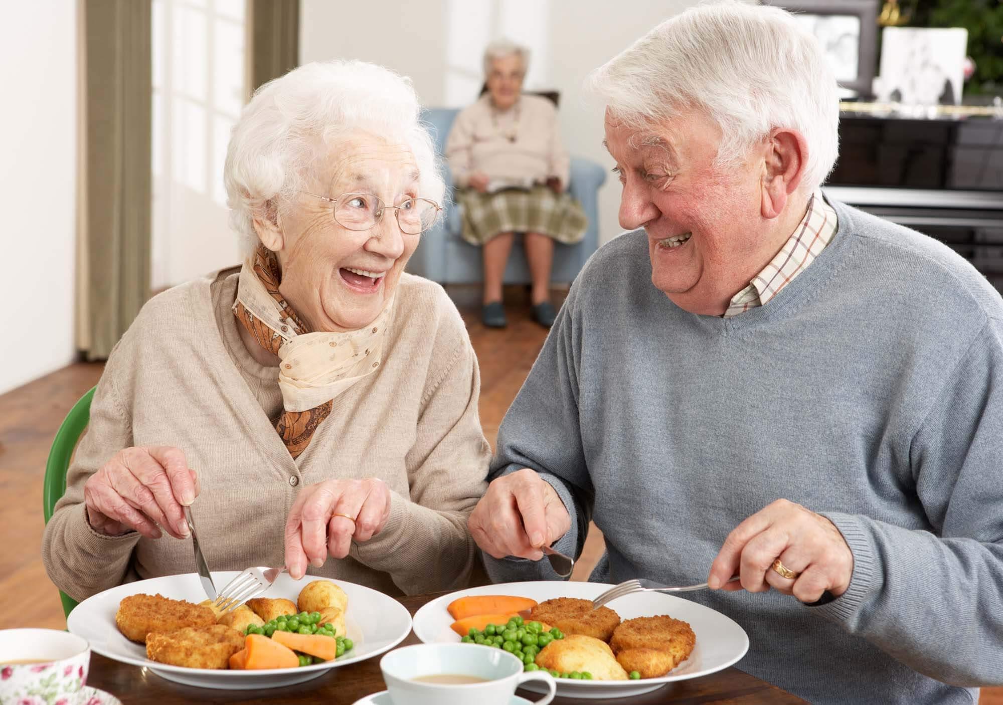 Leckeres Essen Zuhause genießen